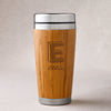 Personalized Bamboo Tumbler - Insulated - Kate - JDS