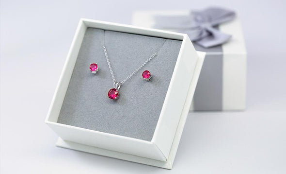 Ruby Earrings (1.2 Carat Total Weight) -  - Qualtry