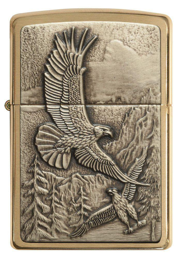 Personalized-Lighters-Zippo-Soaring-Eagles-Executive-Gifts