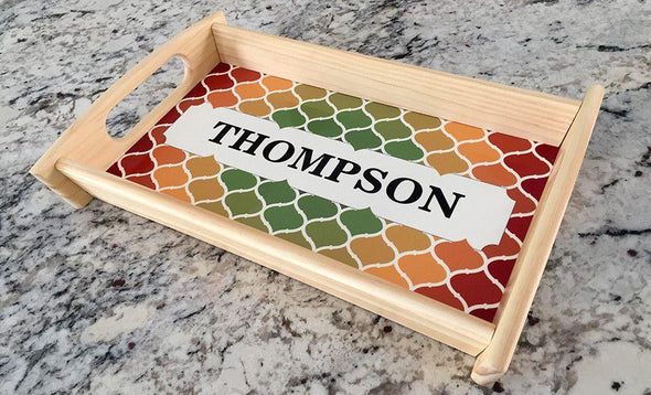 Personalized Custom Serving Tray -  - Qualtry