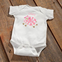Personalized Baby Girl Bodysuit -  - Gifts for Kids - AGiftPersonalized