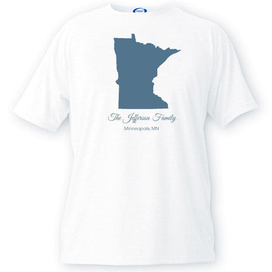 Personalized State T-Shirt -  - JDS