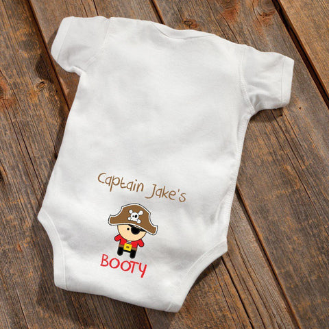 Personalized Baby Boy Booty Bodysuit -  - Gifts for Kids - AGiftPersonalized