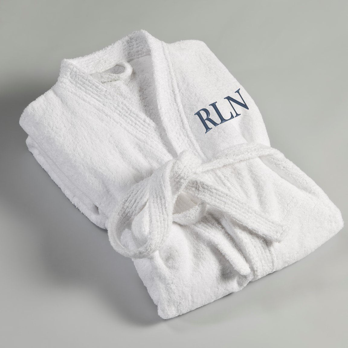 Personalized Mens Embroidered Bathrobe