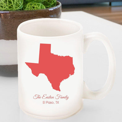 Personalized State Coffee Mug -  - JDS
