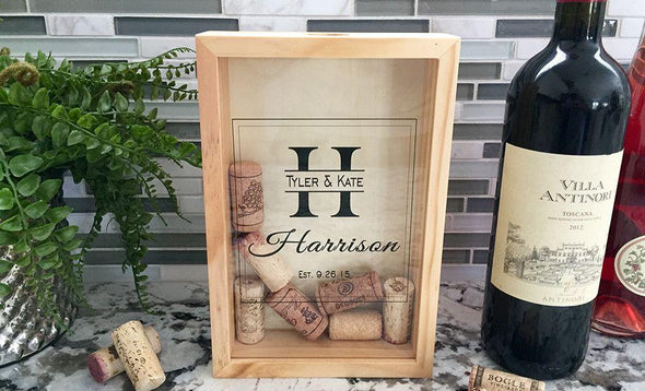 Personalized Wine Cork Keepers - Small -  - Qualtry