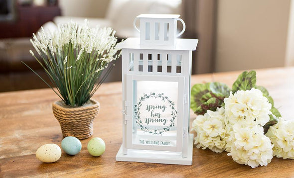 Personalized Spring Lanterns -  - Qualtry