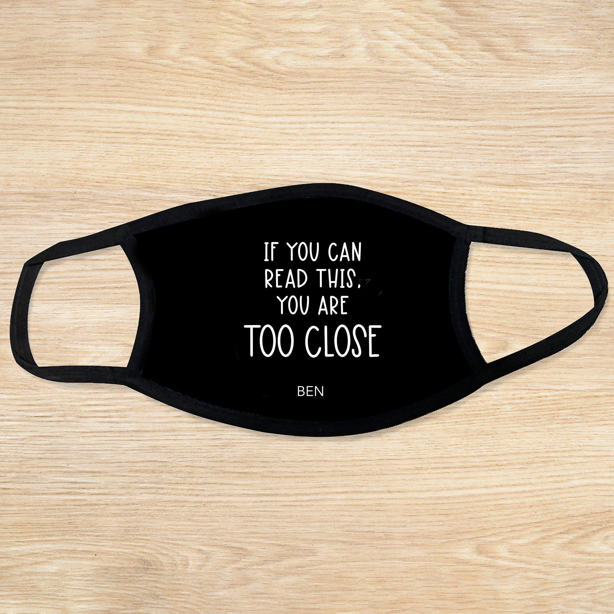 Personalized Reusable Face Coverings - Quotes Collection