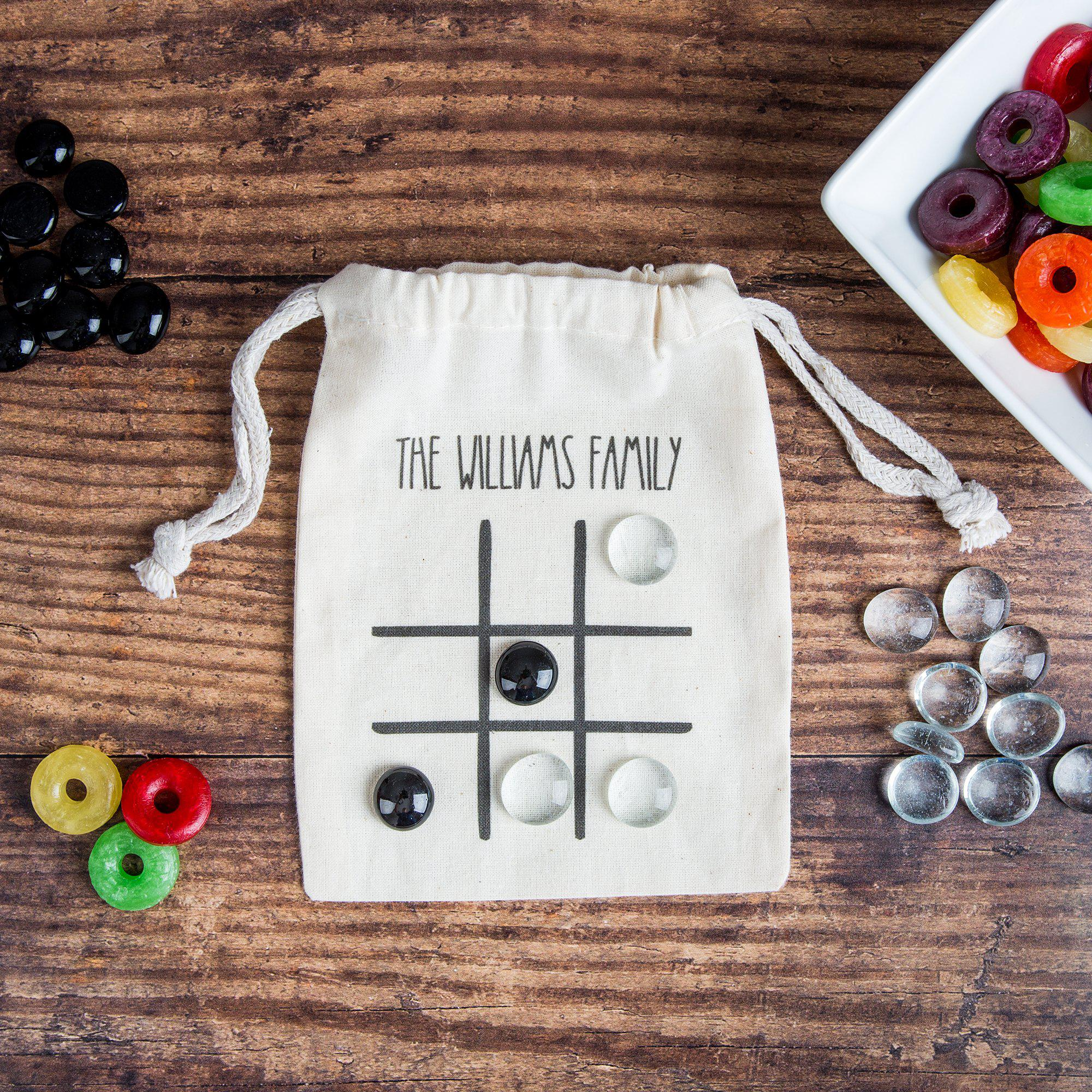 Personalized Tic-Tac-Toe Game in a Bag