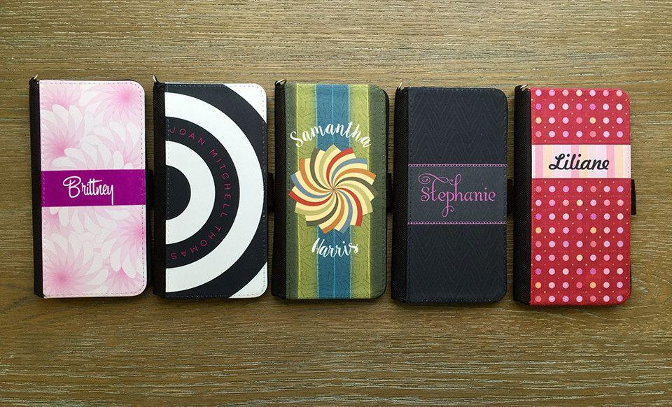 Personalized Leather Women's Wallets