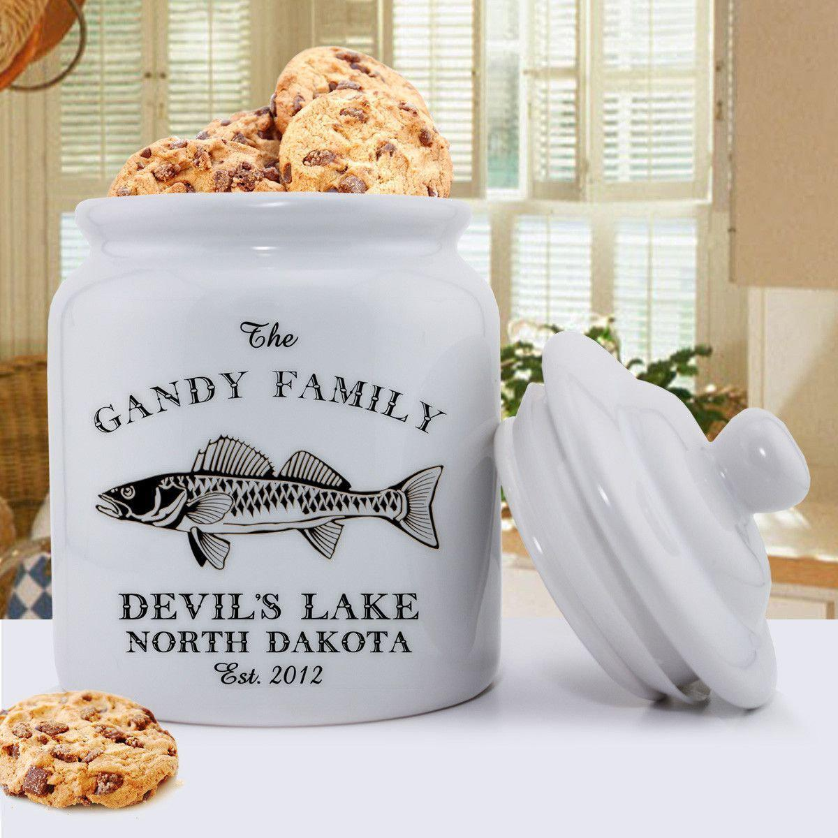 Personalized Cabin Series Cookie Jar