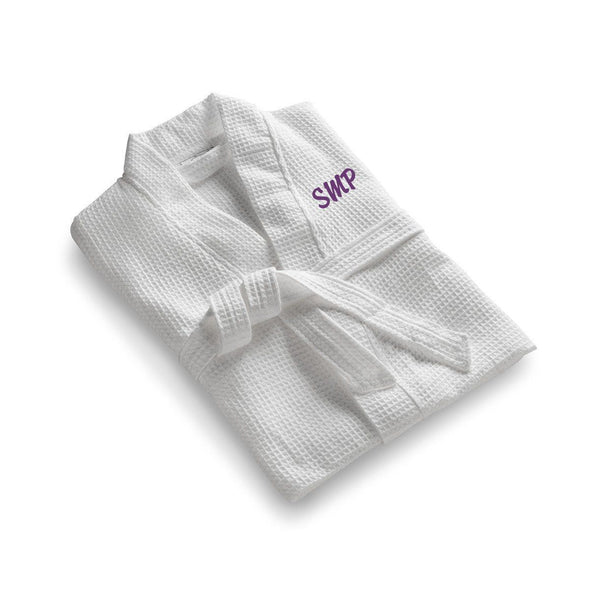Personalized Bridesmaid's Robe - Personalized White Robe -  - JDS