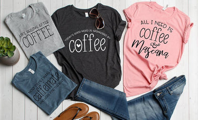 Caffeinate T-Shirt Collection -  - Qualtry