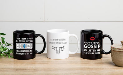 Personalized Listen Up! Mug Collection -  - Qualtry