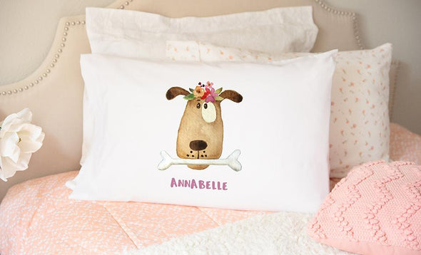 Personalized Whimsical Dog and Cat Pillowcases -  - Qualtry