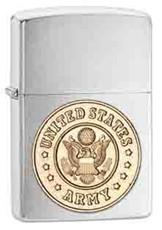 Personalized Lighters - Armed Forces - All Branch's Emblems - Army - Zippo Lighters & Gifts - AGiftPersonalized