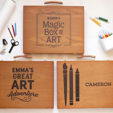 Personalized 150-piece Art Set -  - Qualtry