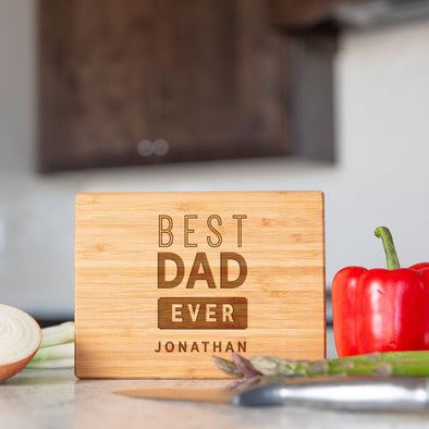 Personalized Bamboo Cutting Boards for Dad -  - Qualtry