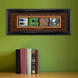 Personalized University Architectural Art - College Art - BowlingGreen - JDS