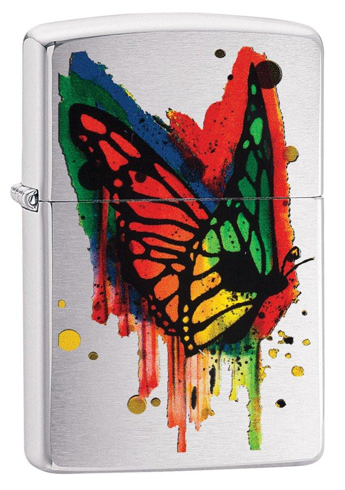 Personalized Butterfly Zippo Lighter