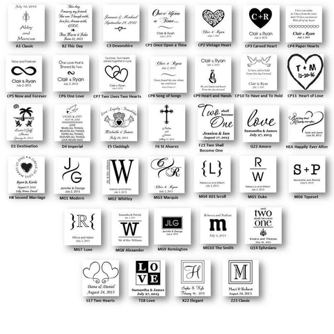 Personalized Premier Wedding Unity Candle w/Stand -  - Candles - AGiftPersonalized