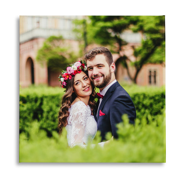 Personalized Photo Canvas Print - 8x8 - JDS