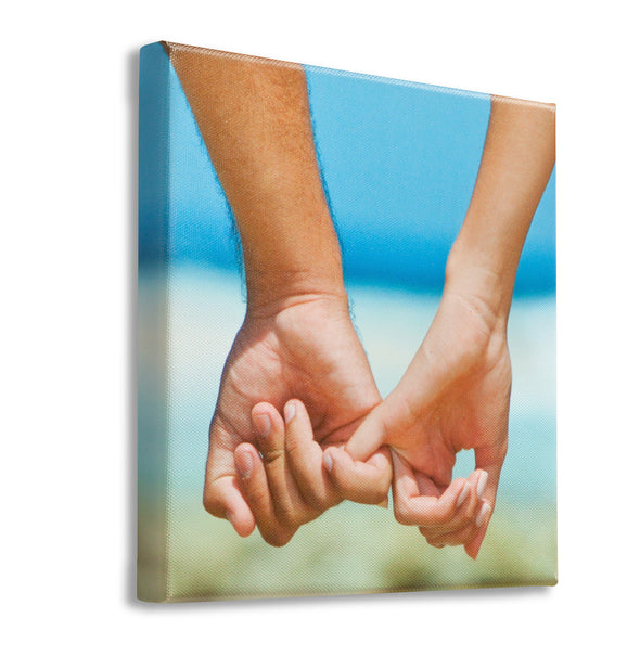 Personalized Photo Canvas Print - 20x20 - JDS
