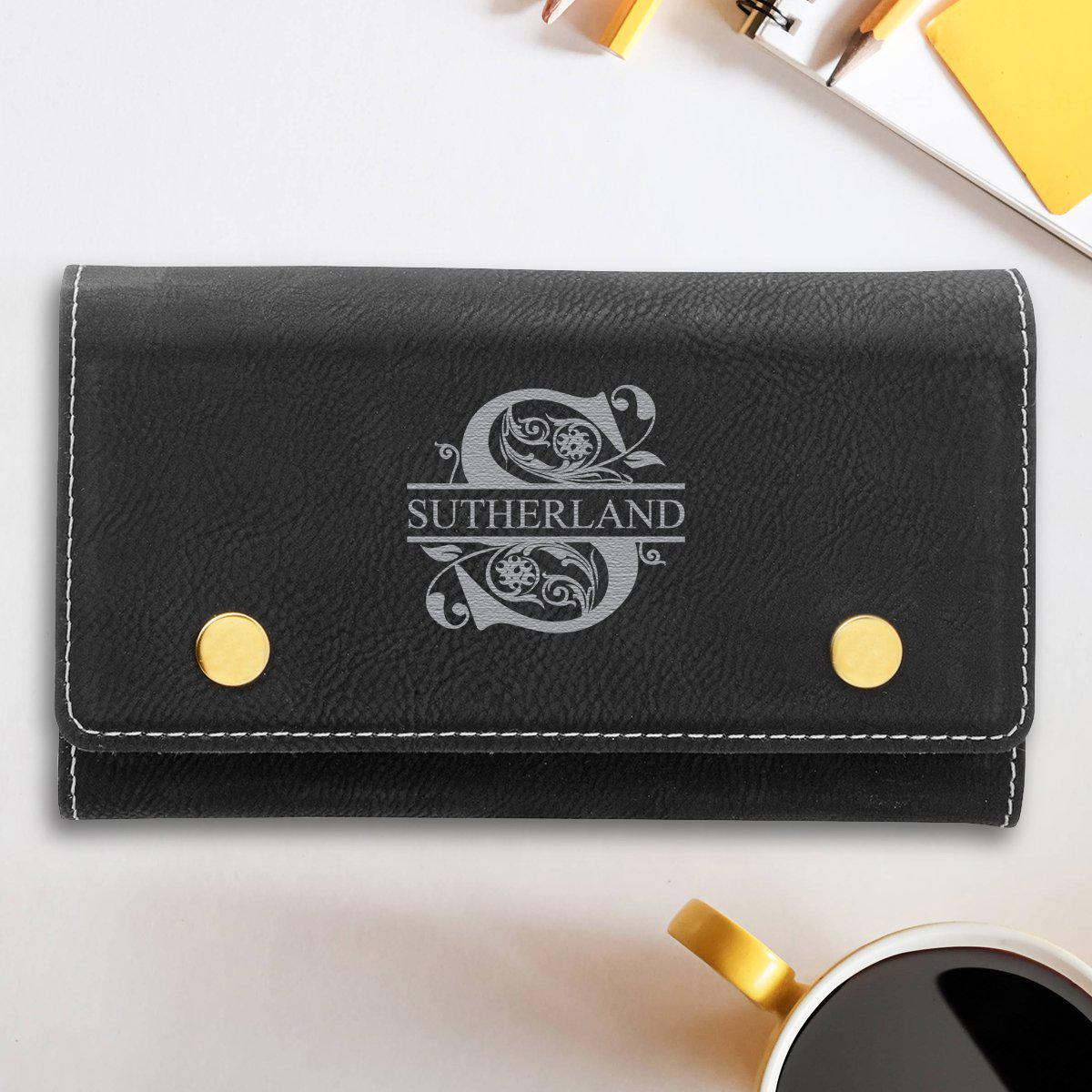 Personalized Card & Dice Set - Black