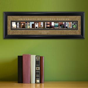 Personalized University Architectural Art - College Art - CFlorida - JDS