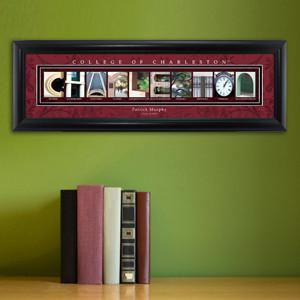 Personalized University Architectural Art - College Art - Charleston - JDS