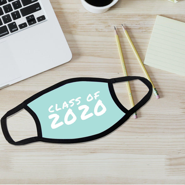 Reusable Face Coverings - Class of 2020 Collection - Blue - Qualtry