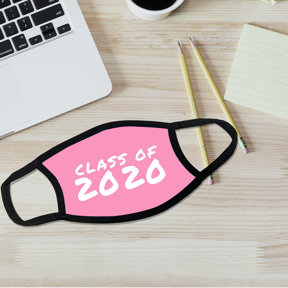 Reusable Face Coverings - Class of 2020 Collection - Pink - Qualtry
