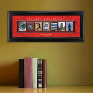 Personalized University Architectural Art - College Art - Cornell - JDS