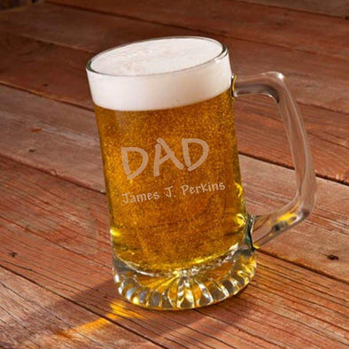 Personalized Sports Beer Mug For Dad -  - JDS