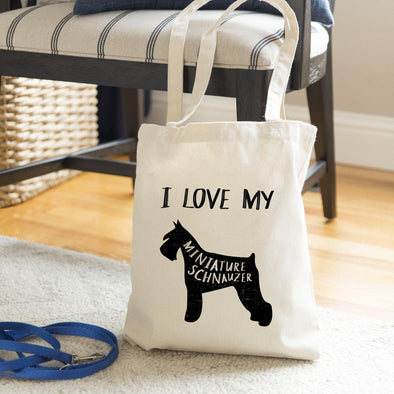 Personalized Dog Breed Tote Bags -  - Qualtry