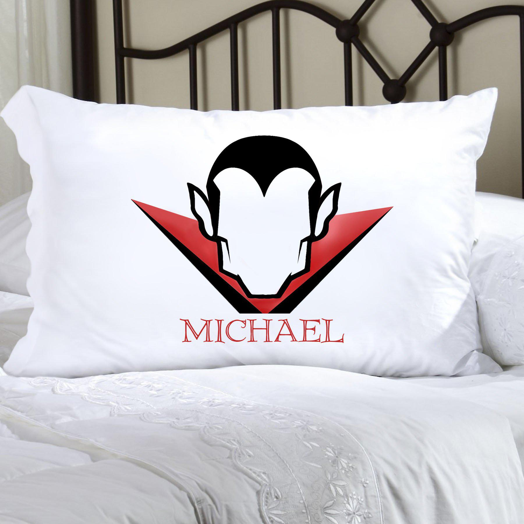 Personalized Halloween Character Pillowcases