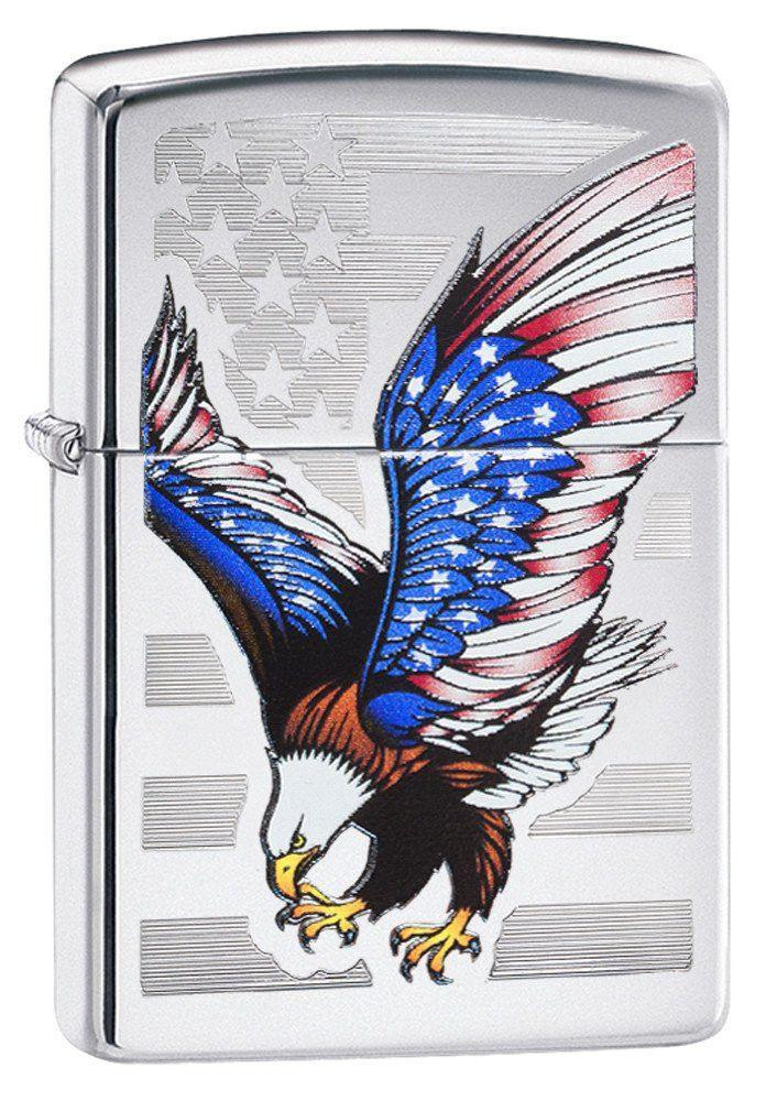 Personalized E-Star Award Zippo Lighter