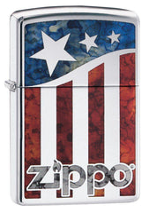 Personalized US Flag Zippo Lighter -  - Zippo Lighters & Gifts - AGiftPersonalized