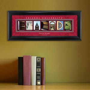 Personalized University Architectural Art - College Art - Friends - JDS