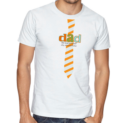 Personalized Father's Day T-Shirt -  - JDS