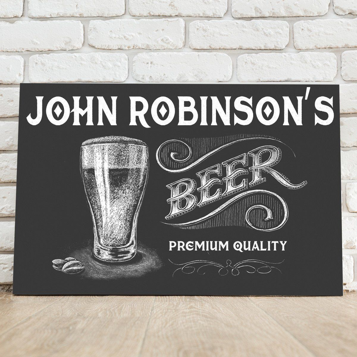Personalized-Premium-Beer-Canvas-Sign