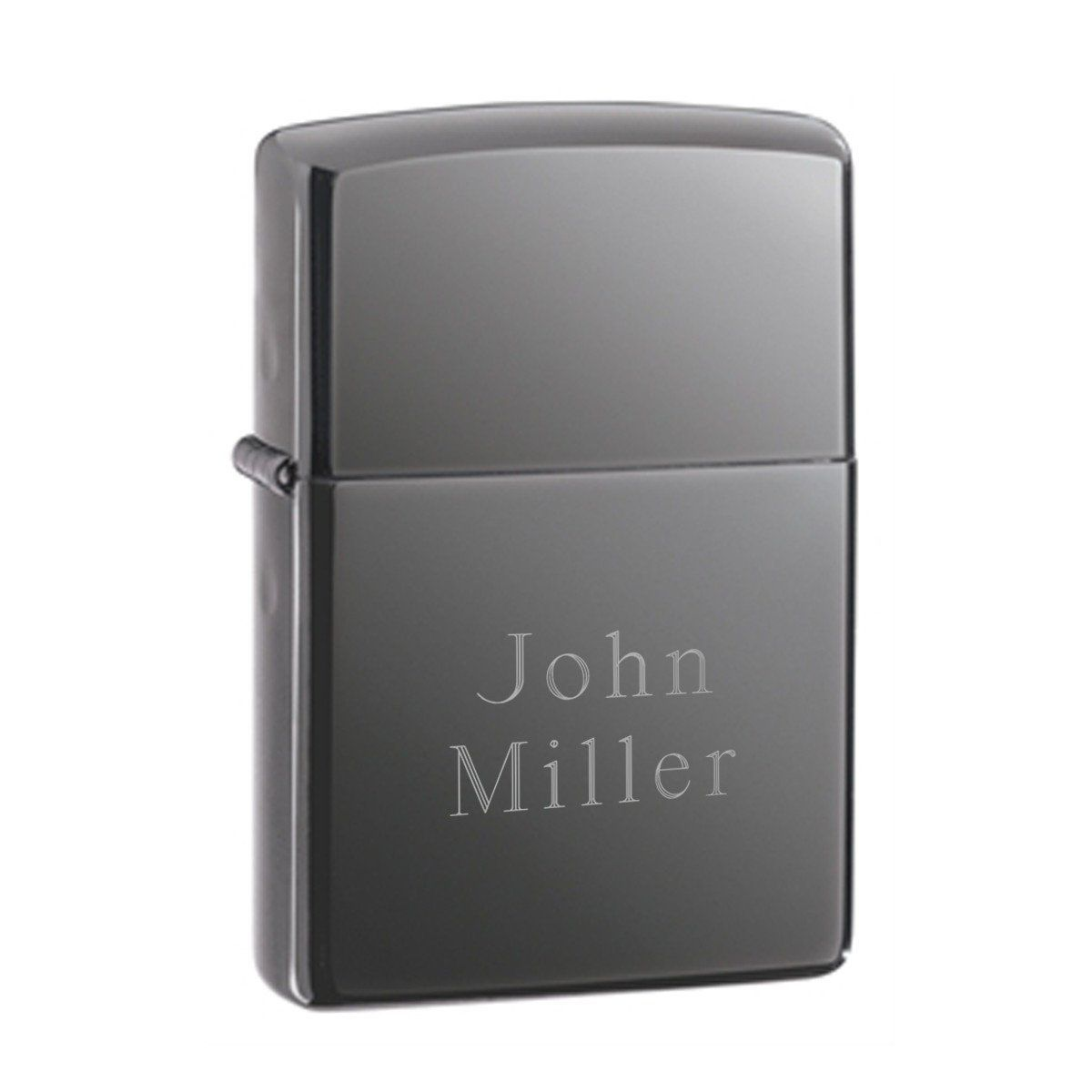 Personalized-Zippo-Black-Ice-Lighter