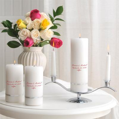 Personalized Deluxe Unity Candle Set -
