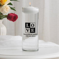 Personalized Floating Unity Candle -  - Candles - AGiftPersonalized