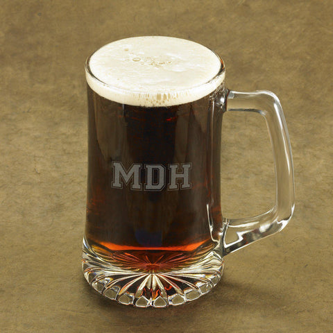 Personalized Monogram Icon Sports Mug - Varsity3 - Glassware - AGiftPersonalized