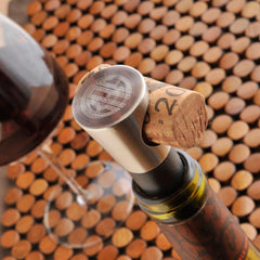 Personalized Wine Stoppers - Buono Vino - Engraved at AGiftPersonalized
