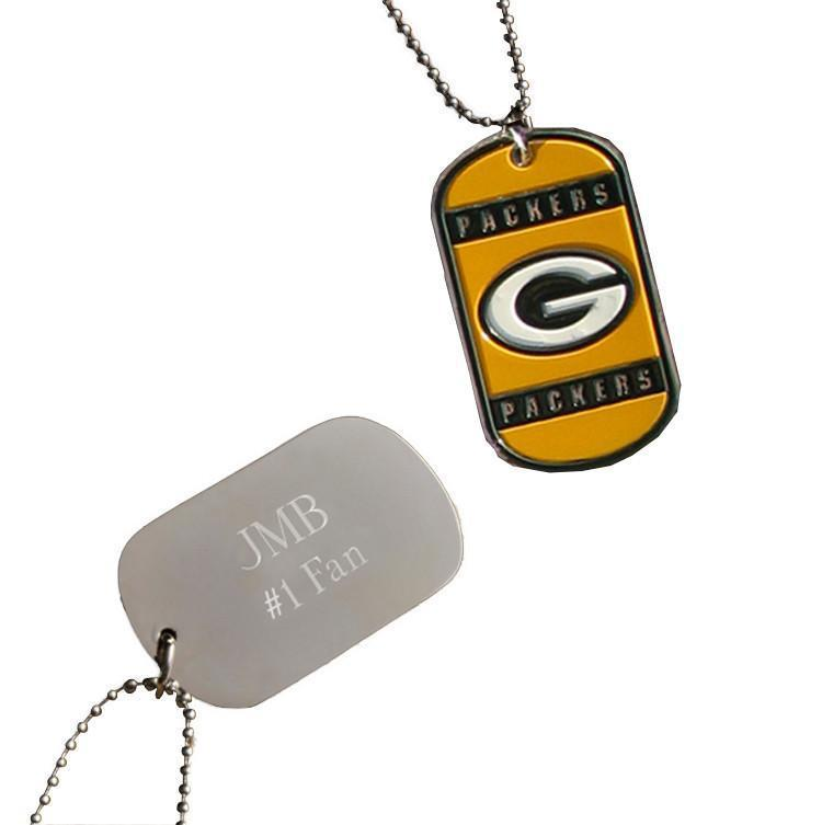 Personalized Dog Tags - NFL - Team Logo - Engraved