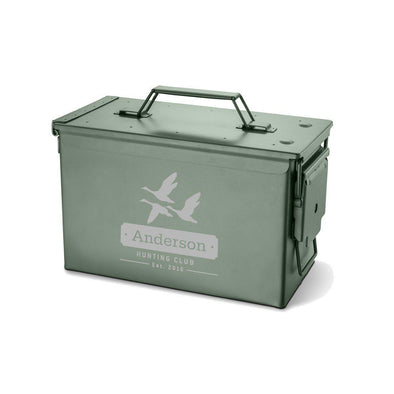 Personalized Recon Metal Storage Box -  - JDS
