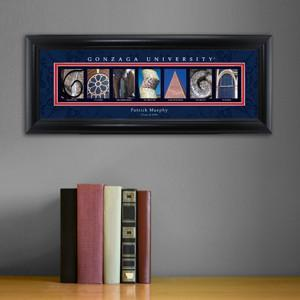 Personalized University Architectural Art - College Art - Gonzaga - JDS