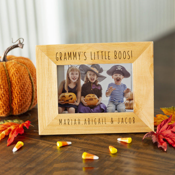 Personalized Happy Halloween Photo Frames -  - Qualtry